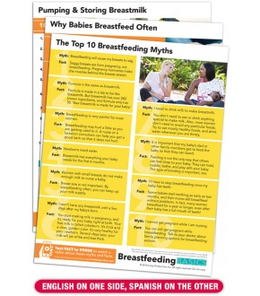 Breastfeeding BASICS Tear Pads With TEXT4VIDEO