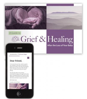 NEW: A Guide to Grief & Healing After the Loss of Your Baby Book + Web App