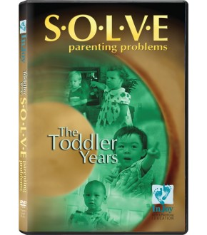 S•O•L•V•E Parenting Problems: The Toddler Years (Clearance Item)