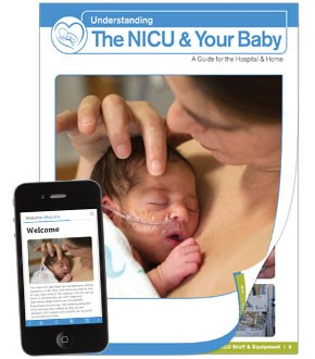 NEW: Understanding the NICU and Your Baby Book + Web App