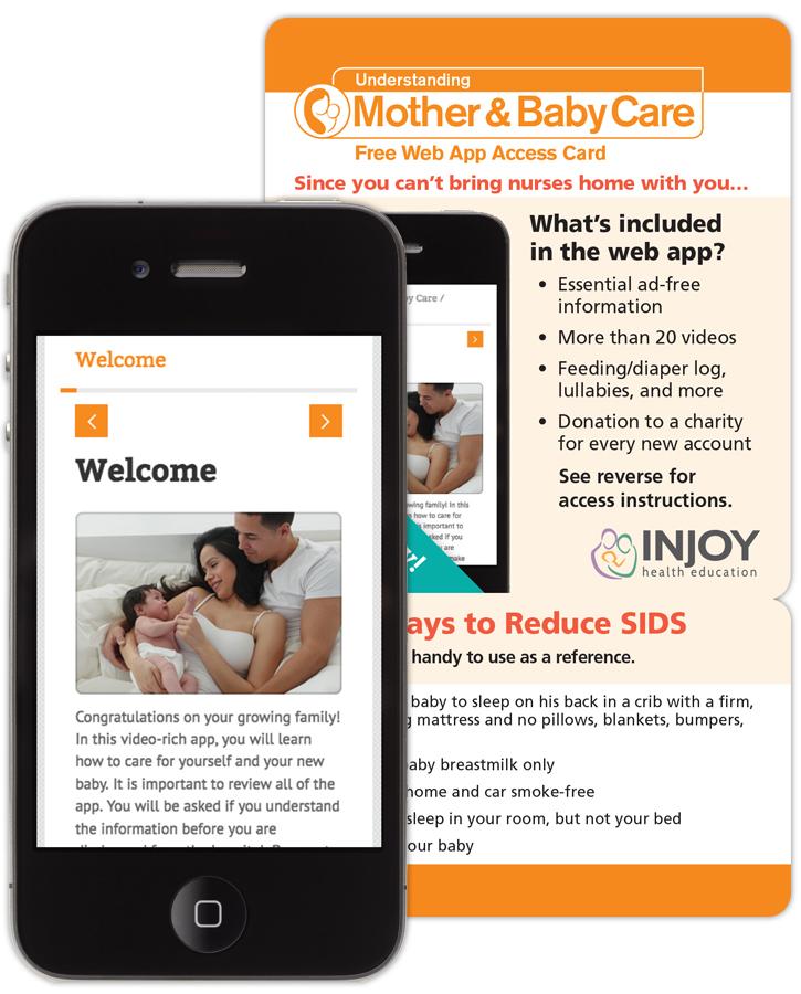 Understanding Mother & Baby Care Web App   InJoy Birth & Parenting