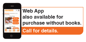 Web App also available for purchase without books.